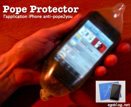 Pope Protector iPhone app