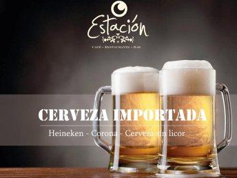 Cerveza importada bar Bogotá