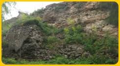 Kariye civarındaki sur kalıntıları