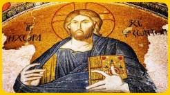 Pantokrator Hz. İsa ve Mucizeler Mozayiği (detay)