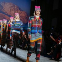 Pussycat Hats Conquer the Runway @Milan Fashio