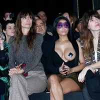Nicki Minaj flashes her boob @PFW
