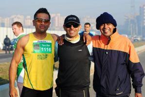 The ultra-trio: (L-R) Param S Narang, Arvind Tripathi and Vishwas Bhamburkar