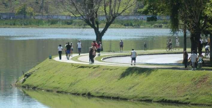 Lagoa da Pampulha já foi área de lazer e atrações turísticas