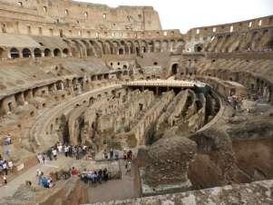 Atrações como o Coliseu, em Roma, voltam a atrair os brasileiros - Foto: Fábio Mendes/VTI