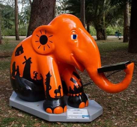 Iniciativa acontece em parceria com a Elephant Parade, em SP - Foto: Divulgação