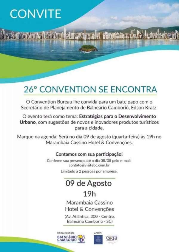 Flyer Convite - Foto: Divulgação