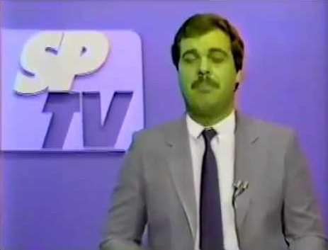 Gilberto Barros SPTV Rede Globo - reprodução internet