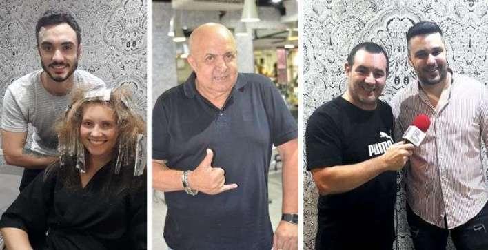Guilherme Teixeira com Adrieli Dalbosco - Lazinho - Reinaldo Dutra com Vitor Vital - foto: Reinaldo Dutra