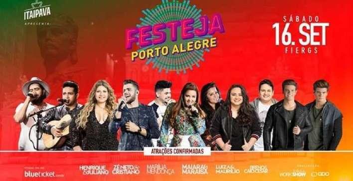 Flayr - Festeja Porto Alegre - Divulgação