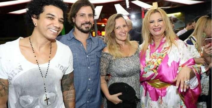 JF, Sergio Abreu, Priscila e Lilian Gonçalves - Foto Paulo Bareta - Divulgação