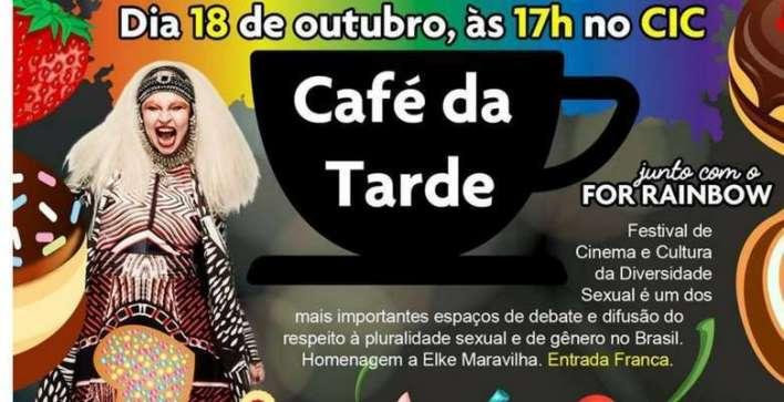 Café da Tarde no Teatro do CIC - Flyer divulgação