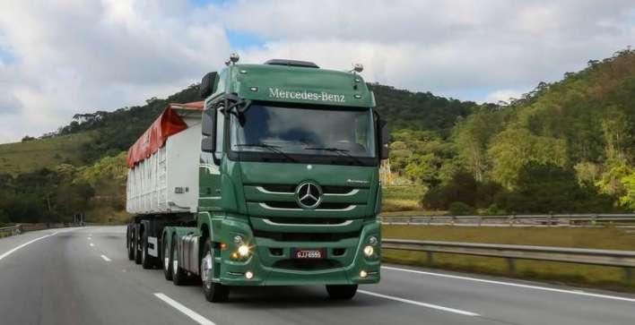 Caminhões Mercedes Benz - Divulgação