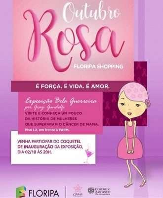 Outubro Rosa no Floripa Shopping
