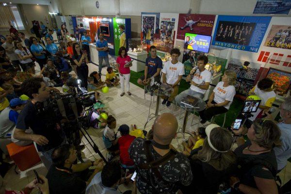 Coletiva de Imprensa no Lançamento da Plataforma Guga Tênis - Foto Caio Graça