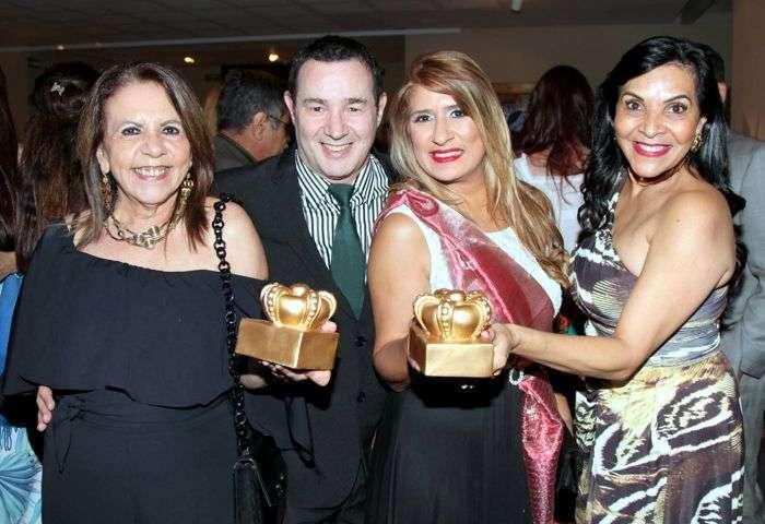 Maria Emília Genovesi, Reinaldo Dutra, Jô Ribeiro e Aninha Monteiro - Foto: Alvaro Talaia