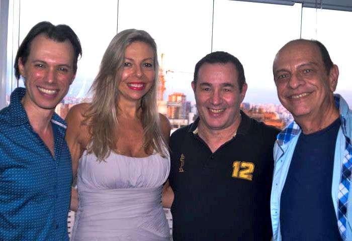 Marcelo De Meo, Silvia Ungaretti Zanini, Reinaldo Dutra e Orlando Chiquetto - Foto: Alvaro Talaia
