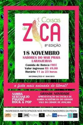Flyer -Coisas de Zica
