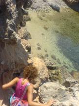 secret beach ikaria