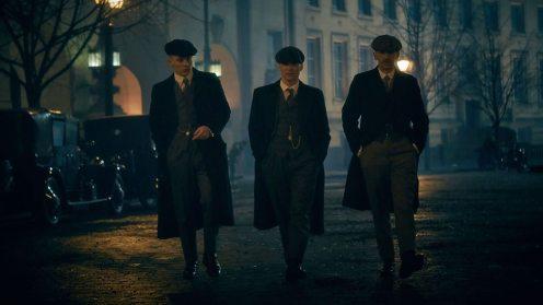 Les frères Gitans dans les rues de Londre
