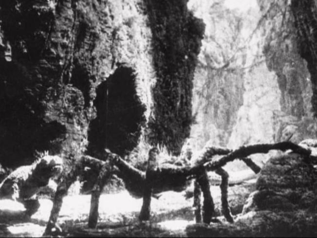 2005 Restauration de la séquence de l'araignée du King Kong de 1933