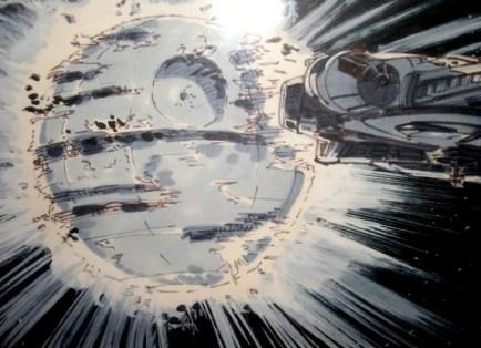 ralph-mcquarrie-starwars-death-star-explod