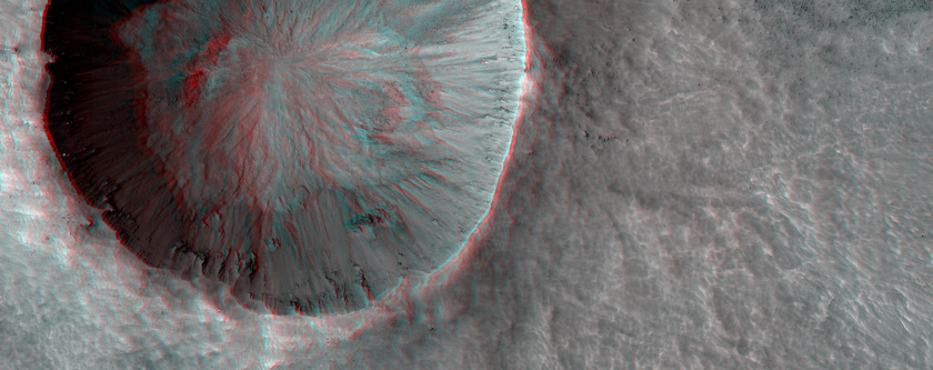 Mars-Infrared-Distinct-Crater