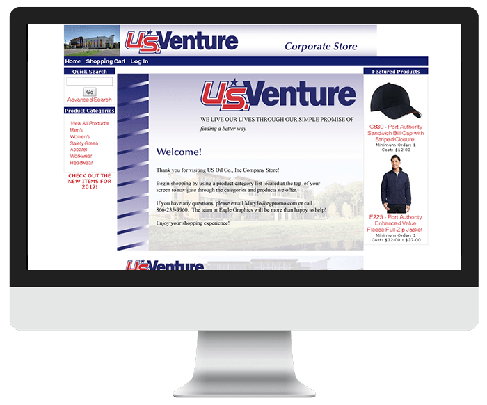 US Venture Ecommerce Store