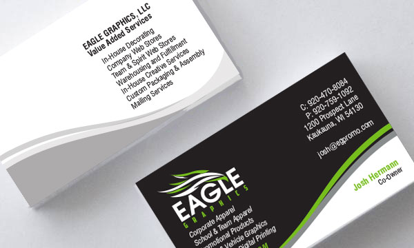 Business printing eagle graphics llc business card design reheart Image collections