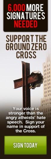 protect the Ground Zero Cross