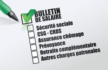 Bulletin de paie des consultants portés – Janvier 2019