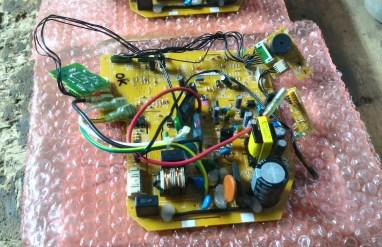 PCB Kontrol Fungsi Masing-masing Komponen pada AC Split