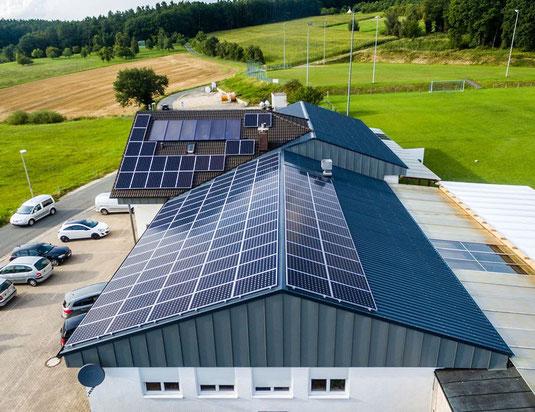 Gewerbe und Photovoltaik