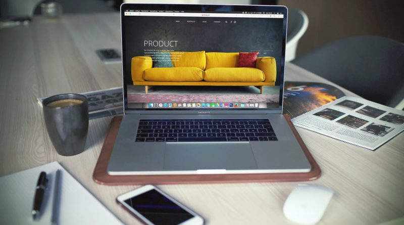 Sell products on the internet