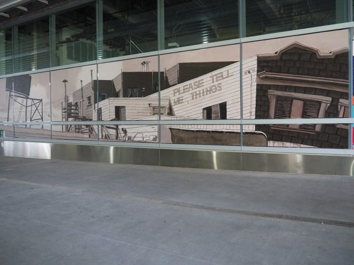 Mural at Salesforce Transit Center