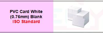 PVC Card White