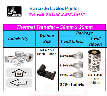 Barco de Lables Printer – Egy-Tech