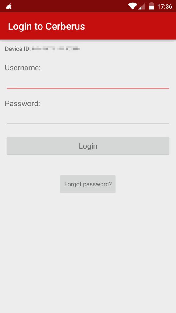 تطبيق Cerbrus للعثور على الهاتف عند فقدانه