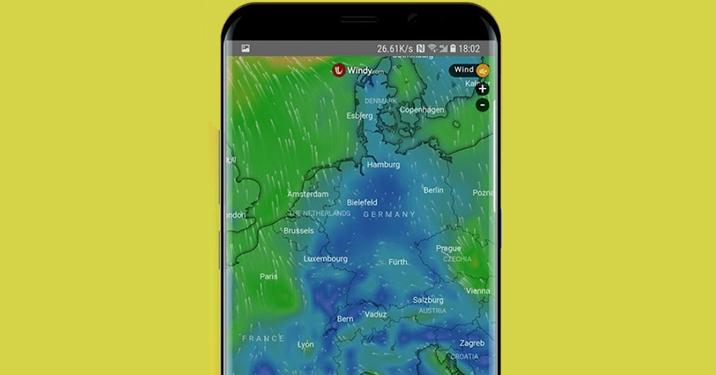 أفضل تطبيق للطقس Apex Weather على متجر جوجل بلاي
