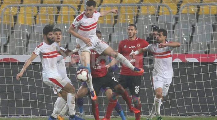 نتيجة وملخص مباراة الأهلي والزمالك اليوم 1 0 في الدوري