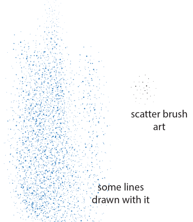 stipply brushes