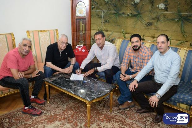 نادى الزهور الرياضى يتعاقد مع وائل عبد العاطى لتدريب فريق كرة اليد