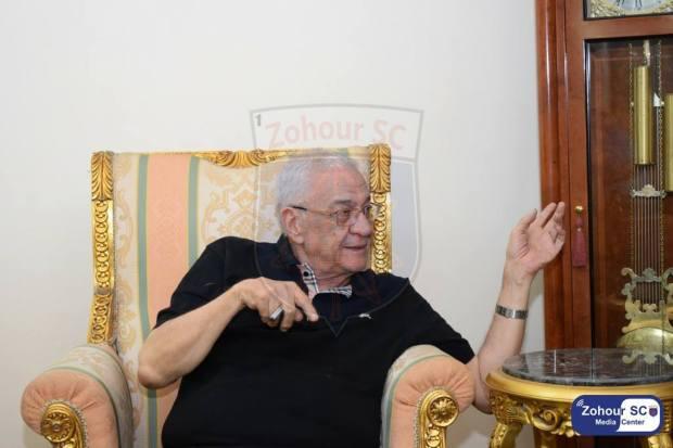 المهندس محمود السرنجاوى رئيس نادى الزهور
