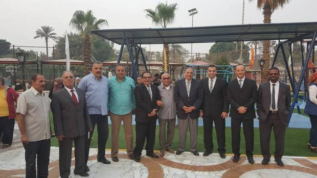 افتتاح حديقة الاطفال فى نادى القاهرة الرياضى