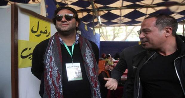 احمد حسام ميدو فى انتخابات نادى الصيد