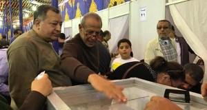 محسن طنطاوى رئيس نادى الصيد فى انتخابات الاهلى