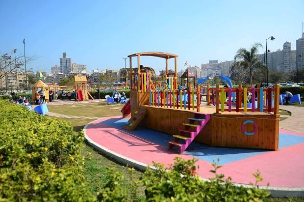 حديقة اطفال نادى سموحة