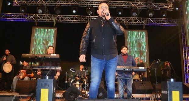 هشام عباس فى نادى الزهور