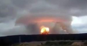 انفجار مفاعل روسيا النووي