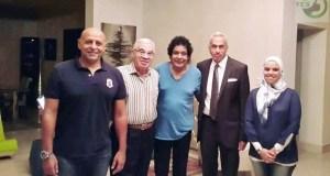 حفل محمد منير في نادي هليوبوليس